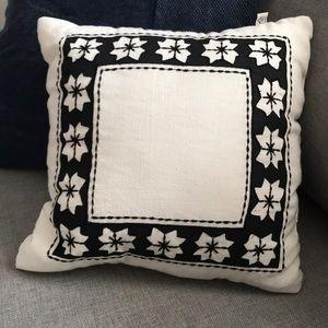 Hearth & Hand White & Black Decorative Pillow